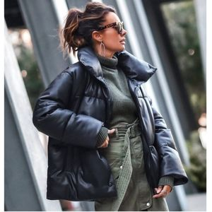 NEW Republic Oversized Vegan Leather Puffer Jacket